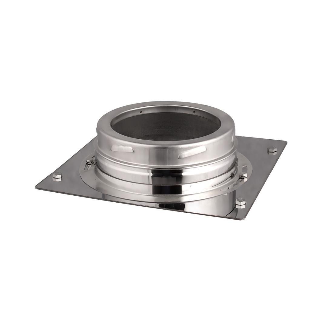 Piastra di base inox - Ø130-150-180-200 mm