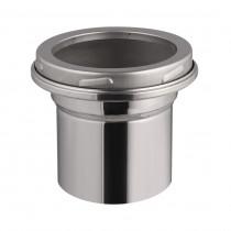 Raccordo in acciao inox - Ø da 200 mm a 180 mm