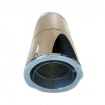 Elemento lineare regolabile 500-850 mm con riduzione DP/SP – Ø 130-150-180-200 mm
