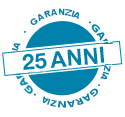 Garanzia 25 anni